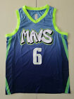 New Season Dallas Mavericks # 6 Kristaps Porzingis Blue Basketball Jersey City on eBay