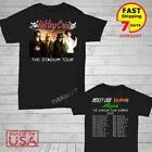Motley Crue t Shirt The Stadium Tour 2020 T-Shirt Size Men Black M-2XL  image