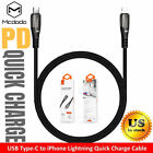 Mcdodo For iPhone 12 11 Pro MAX XR Xs USB-C Fast PD Charging Cord Charger Cable