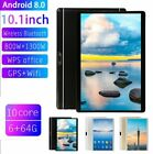 "10.1"" WIFI/4G-LTE 6G+64G HD PC Tablet Android 8.0 bluetooth SIM GPS Dual Camera"