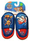 PAW PATROL CHASE MARSHALL Plush Slippers House Shoes Size 7-8, 9-10 or 11-12 NWT