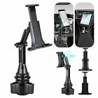 "360° Car Cup Holder Mount Holder For 7-11"" iPad Mini/2/4/5/Air Samsung Tablet"
