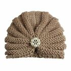 Knitted Winter Baby Hat For Girls Candy Color Bonnet Enfant Baby Beanie Turban H