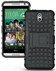 NEW GRENADE GRIP RUGGED TPU SKIN HARD CASE COVER STAND FOR HTC DESIRE 610 PHONE