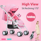 Baby Stroller Pram Travel Carry Compact Lightweight Foldable Adjustable 50kg