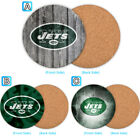 New York Jets Wood Coaster Coffee Drink Tea Cup Mat Mug Pad $4.69 USD on eBay