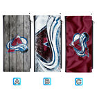 Colorado Avalanche Long Thin Leather Wallet Clutch Purse Card Holder $13.99 USD on eBay