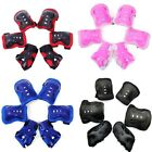 Kids and Teens Elbow Knee Wrist Protective Guard Safety Gear Pads Children sch image