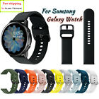 Samsung Galaxy Watch Active 2 40/42/44mm Gear S2 Silicone Sport Band Tpu cover image