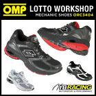 OMP Racing Lotto Sport Trainers Shoes for Workshop Mechanic Pitcrew Motorsport