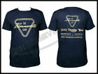 THE BONNEVILLE SHOP PATENT PLATE LOGO NAVY BLUE T-SHIRT TRIUMPH NORTON BSA PN# T $19.95 USD on eBay