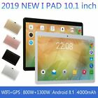 10.1'' 64GB Android 8.1 Tablet PC Octa Core 10 Inch HD WIFI 2 SIM 4G Phablet us