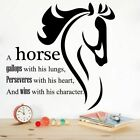 Gallop Horse Motivation Quote Vinyl Wall Art Decor Sticker For Home Room Decals