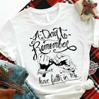 Happy Valentine A Day To Remember Have Faith In Me Tshirt Women White