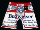 PSD Budweiser Classic Beer Long Boxer Briefs Double Layer Mesh Front Men's NWT