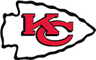 Kansas city chiefs decals corn hole set of 2 decals ,Free shipping, Made in USA $29.6 USD on eBay