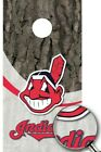 Cleveland Indians Cornhole Wrap Decal MLB Sticker Surface Texture Single M2104 on Ebay