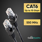 Kyпить CAT6 Patch Cable Cord Ethernet Lan UTP Wire Modem RJ-45 Patch 1.5-100FT lot на еВаy.соm