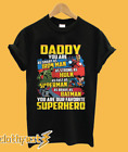 Dad you are smart as Ironman strong as Hulk fast as superman US shirt for man