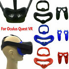 For Oculus Quest VR Eye Mask Cover Light Blocking  Dual Handles Case Anti-sweat