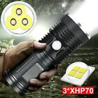Kyпить 120000 Lumens 3*XHP70 LED Flashlight Tactical Torch Waterproof Lamp Ultra Bright на еВаy.соm