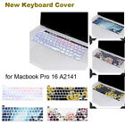 Mosiso Laptop Silicone Keyboard Cover Skin for Apple Macbook Pro 16 inch A2141