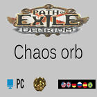 Path of Exile Chaos Orb Delirium League Currency Poe Orb SC PC NA UK EU