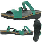 NAOT Women's Gabriela Leather Strap Slip On Casual Wedge Sandals <br/> Leather Strap Upper w/ Anatomc Footbed $140 MSRP