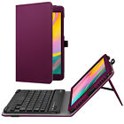 For Samsung Galaxy Tab A 8.0 T290 2019 Case Stand Cover with Bluetooth Keyboard