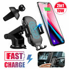 Automatic Clamping Wireless Car Charging Charger Mount Air Vent Cellphone Holder