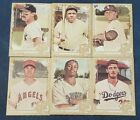 2019 Topps Allen & Ginter Gold Border Hot Box Baseball 1-400 with SPs