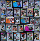 1984 Topps Football Cards Complete Your Set You U Pick From List 1-200 $0.99 USD on eBay