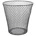"Essentials 9"" Wire Waste Basket IN BLACK OR WHITE"
