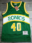 Throwback Shawn Kemp #40 Seattle SuperSonics 89-90 Rookie Jersey on eBay