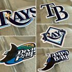 Tampa Bay Devil Rays Baseball Team Logo MLB Sticker Decal Vinyl #RaysUp