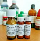 Homeopathic Remedies in 200C in Sizes 8/16/25 Grams of Globules Homeopathy UK