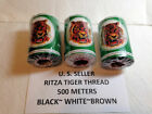 US SELLER RITZA Tiger 1.0, 0.8mm Leather Hand Sewing Thread 500 Meters_1640 ft