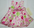 Girls 2 pc Dress Baby 1st Picture Fancy Sunday Best Two Piece Set Bloomer Panty