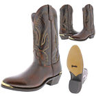 Laredo Men's New York Leather Lizard Print Western Boots <br/> Leather Uppers w/ Lizard Print Foot $163 MSRP