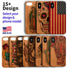 Wood Phone Case For iPhone 11/11 Pro/Max, X/XS/XR/XS Max, 8/7/6 Plus UV