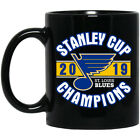 St. Louis Blues 2019 Stanley Cup Champions Black Coffee Mug $15.5 USD on eBay