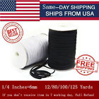 Kyпить Elastic Band Cord 1/4 inches width (6mm) 12 yard to 125 Yards Sewing For Mask up на еВаy.соm