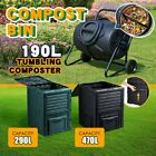Compost Bin Kitchen Food Waste Recycling Composter Garden Composting Tumbler