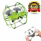 2.4GHz Double Wireless Flying Quadcopter Drone 4-Axis Flip Gyroscope Kids Toy UK