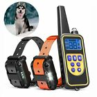 880 Yards Remote Electric Dog Shock Collar Rechargeable Vibration Pet Training collar dog electric Featured pet rechargeable remote shock training vibration yards
