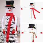 Snowman Christmas Tree Cover Topper Ornaments Indoor Decoration Xmas Gifts ;
