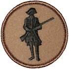 """Minuteman Patrol Patch - 2"""" Round Embroidered Patch"""