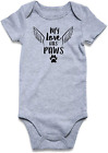 Funnycokid Newborn Baby Funny Bodysuit One Piece Infant Short Sleeve Rompers Jum