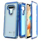 For LG K51 Case Full Body Tough Military Grade Clear Shockproof Hard Phone Cover