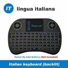 2.4G Mini Wireless I8 Keyboard with Touchpad QWERTY with USB Receiver Remote New